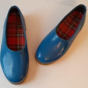 Midwest blue rain/garden shoes-sz 8